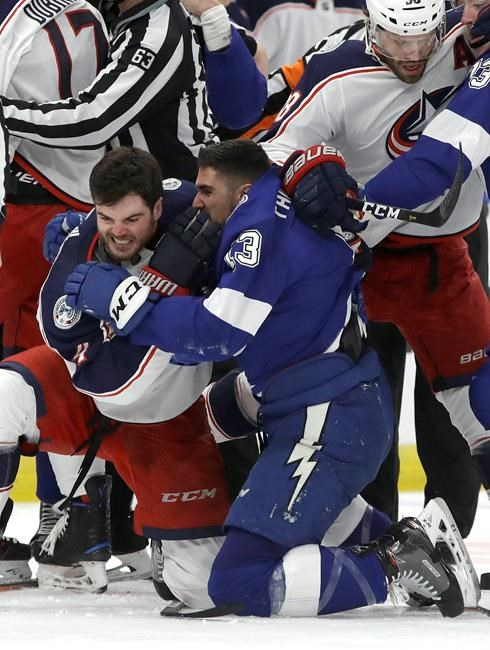 Hockey News - Blue Jackets rally from 3-goal deficit to ...