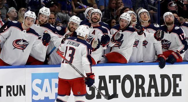 Hockey News - Blue Jackets stun Lightning 5-1 to take 2-0 ...